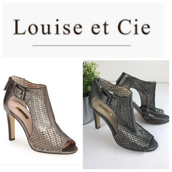 Louise Et Cie Olivia 2 Cutout Peep Toe